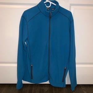 Eddie Bauer fleece full-zip jacket